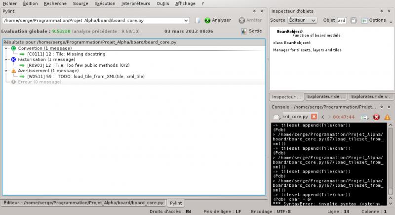 [Python]Spyder, le super éditeur de code, et aide au debug 202174debuggagespyder8