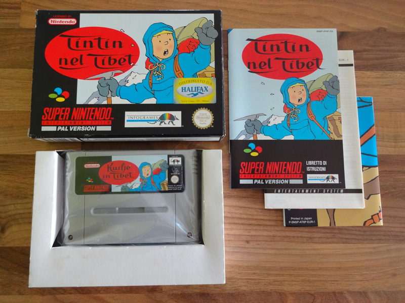 Prupru's Collection ! 100% Super Nintendo et 200% Super Comboy !! - Page 20 202202TintinnelTibetITA