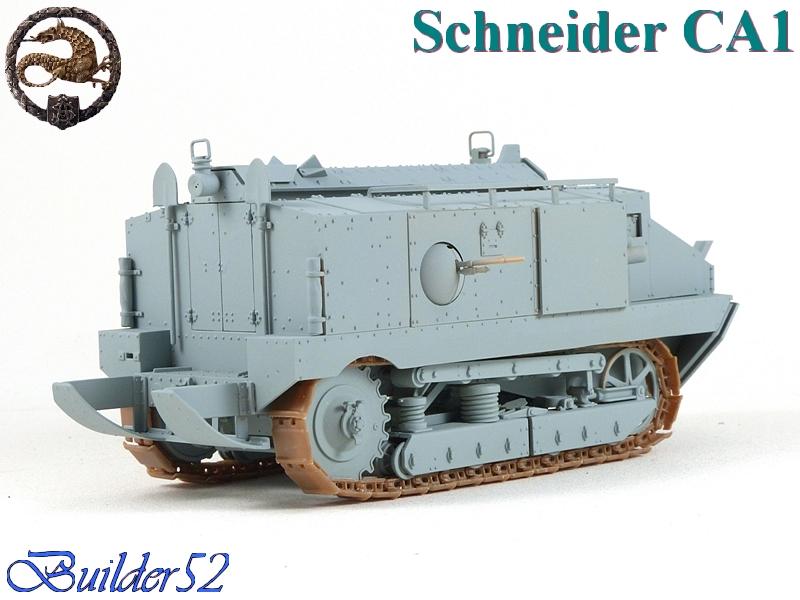 CHAR SCHNEIDER CA 1 - HOBBY BOSS 1/35 203280P1040937
