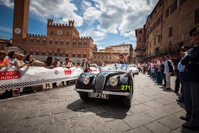 Jaguar Heritage Aux Milles Miglia 2015 Avec Des Modeles D'exception 203878JagMMDriverLineupImage30041507