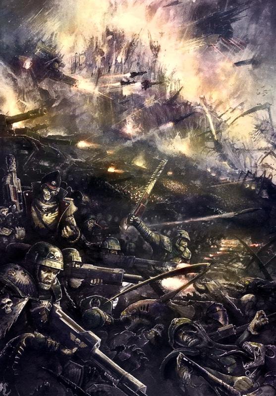 [W40K] Collection d'images : La Garde Impériale 207134NoRetreatNoSurrenderbyMajesticChicken