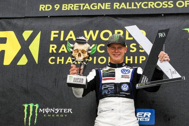 WRX: Kristoffersson, vainqueur en France, établit un nouveau record 208392hd177356kristoffersson09fra17am0303