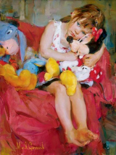 [Collection] Disney Fine Art de Collectors Editions (artworks) 209792Hugs20for20Minnie2024x18