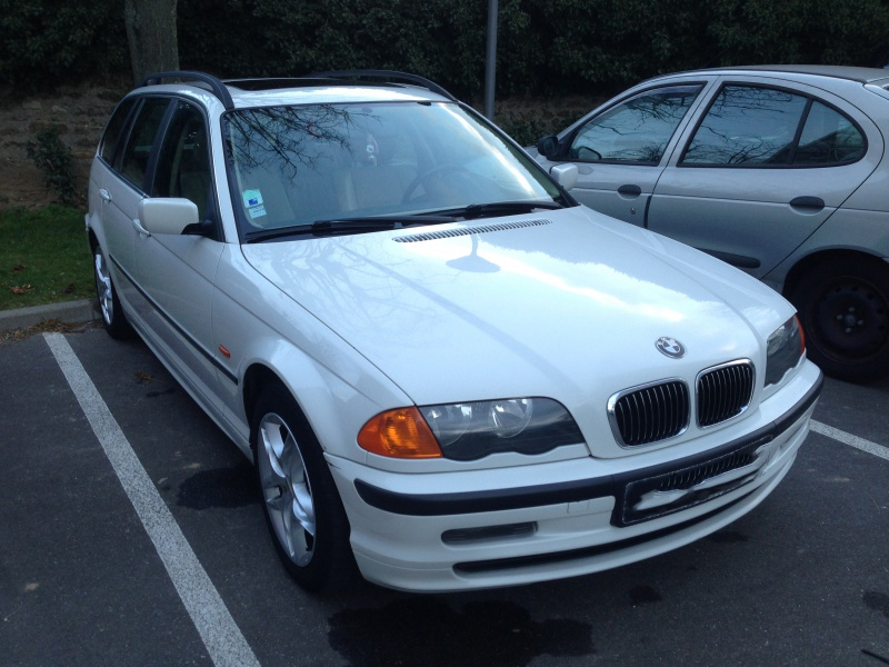 Ma nouvelle acquisition une BMW 320iA Touring 210919IMG5203