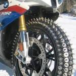 Chaines à neige pour motos 213968481