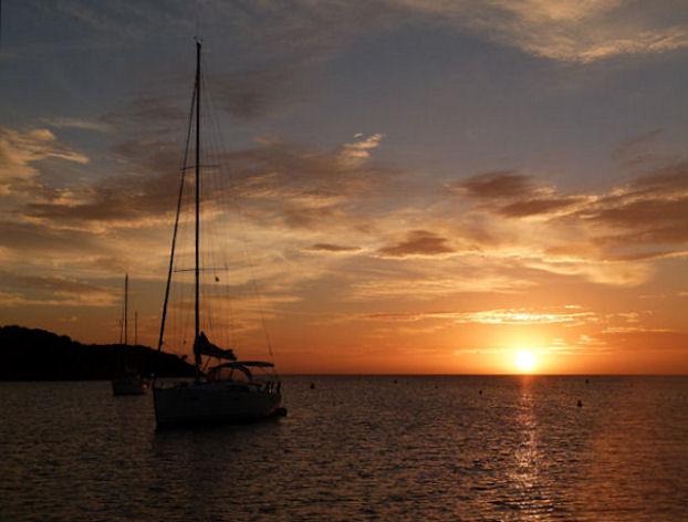 Lever et coucher de soleil en Corse 214063P1110529