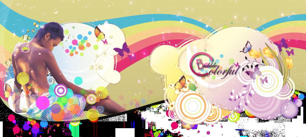 Colorful Bubble - Forum de Graphisme !