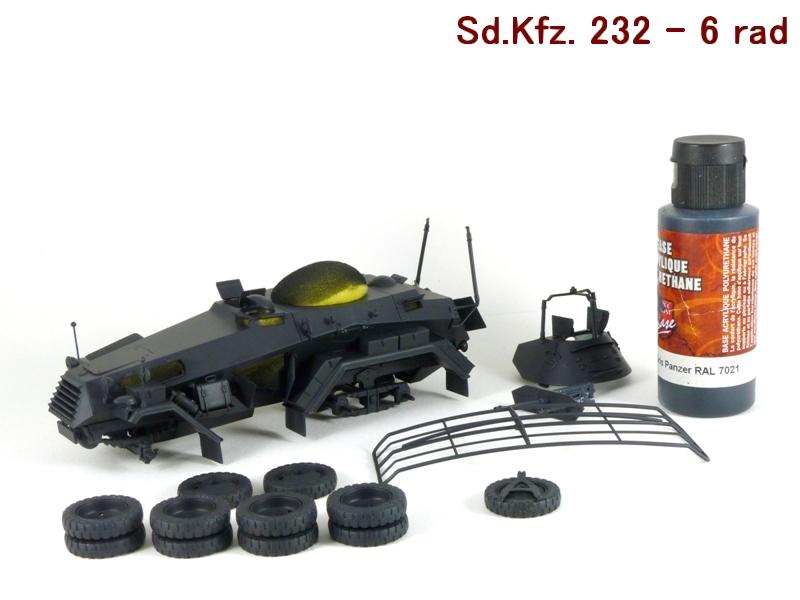 Sd.Kfz. 232 6 Rad - France 1940 - Italeri 1/35 217407P1030982