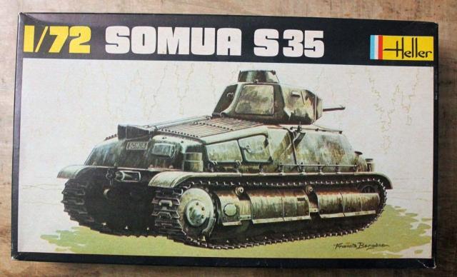 Char d assaut SOMUA S 35 1/72ème Réf 197 2175984657