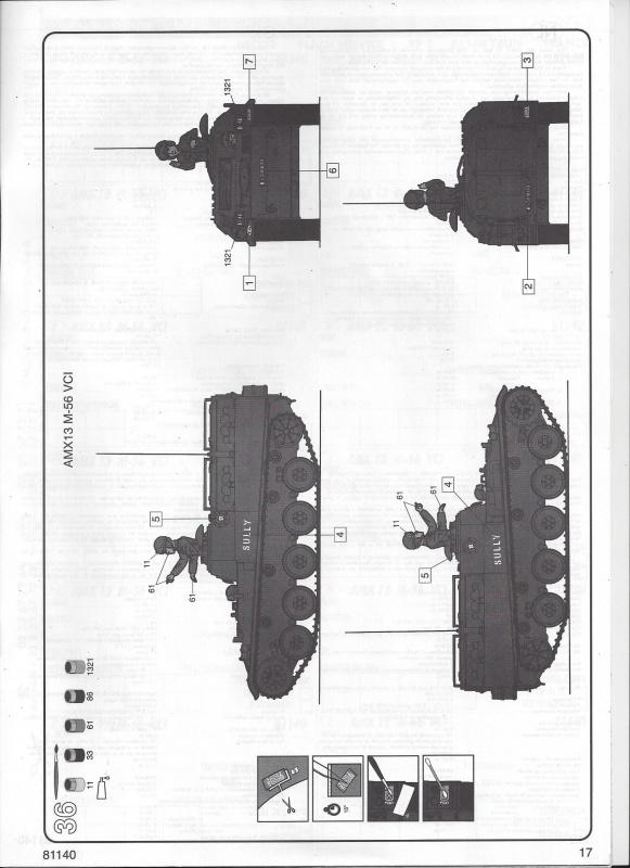 AMX 13 VCI 1/35ème Réf 81140 217917VCI017