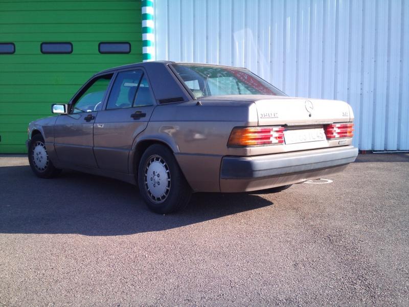 Mercedes 190 1.8 BVA, mon nouveau dailly 217918DSC2201