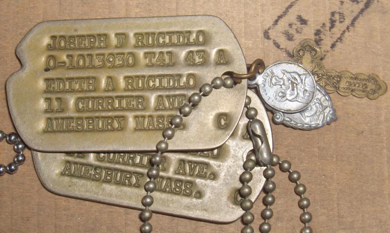 Les Dog Tag U.S. WWII 218348014