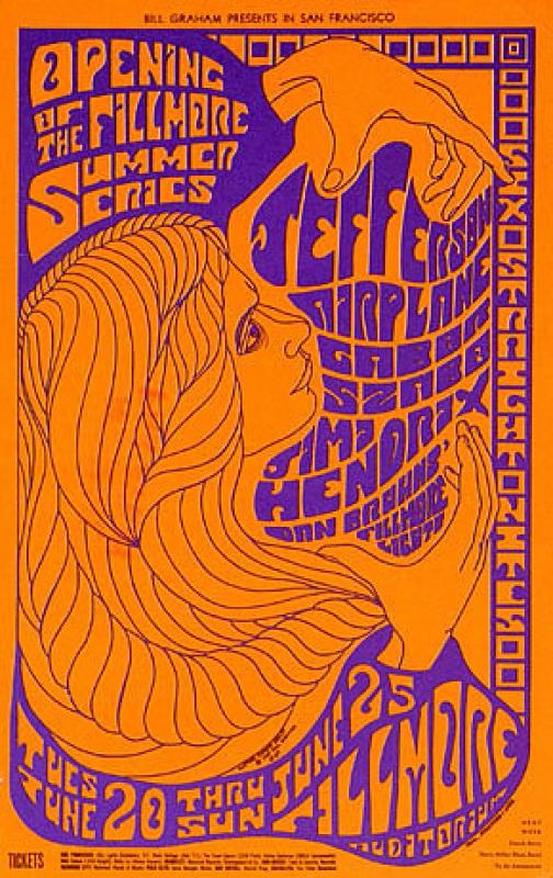 San Francisco (The Fillmore Auditorium) : 20 au 25 juin 1967 219094fillmore670625