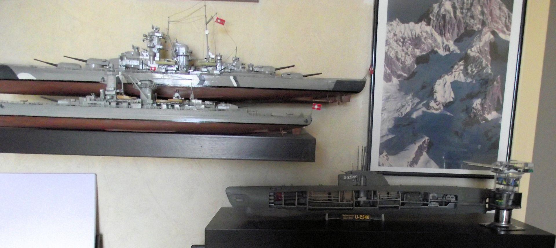 Sous marin Type XXI Revell au 1/125 219209DSCF0816