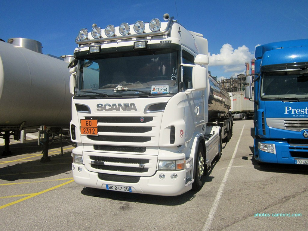 Société d'exploittion Transports Travier (Moirans) (38) 220395Divers090812029Copier