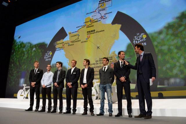 Tour de France 2015 : le parcours officiel dévoilé 22344520141022961234157