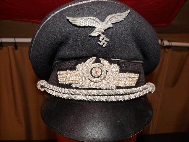 Petite question casquette officier luftwaffe 226811DSCF4806