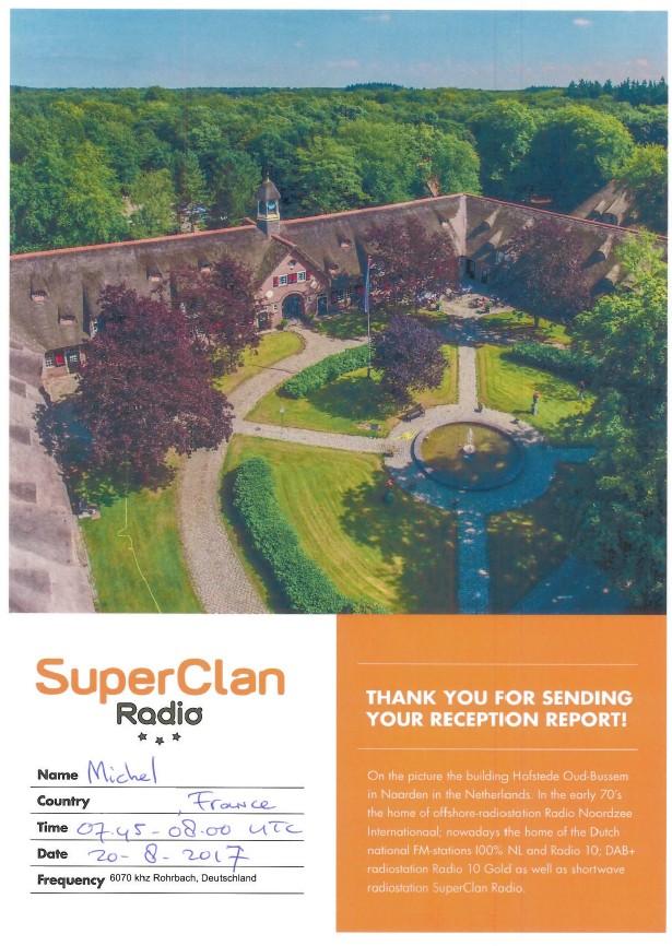 eQSL de radio super clan/surfradio 228347Superclan