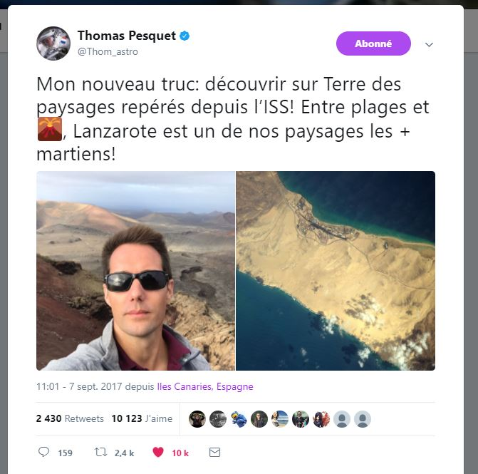 Thomas Pesquet - Astronaute français - Page 3 229073Capture