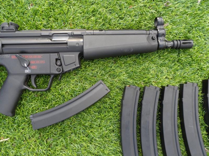 SR52 G&G top tech, MP5 H&K A4, Glock 33 we 23081911001099102062209611111931328614016o