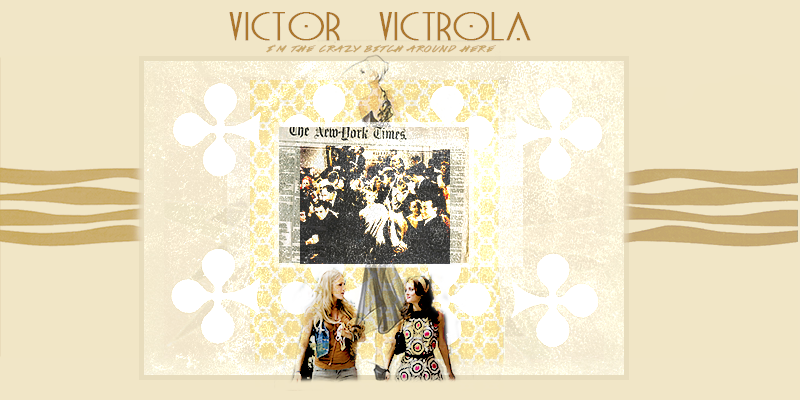 (headers) mashed woods + ice and fire. 231954VICTORVICTROLA