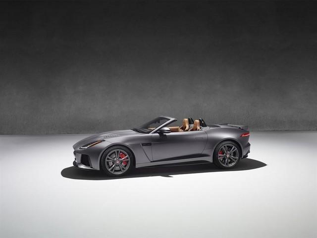 Nouvelle Jaguar F-TYPE SVR : La Supercar Capable D'atteindre 322 km/h Par Tous Les Temps 233550JAGUARFTYPESVR52CONVERTIBLEStudioLowRes