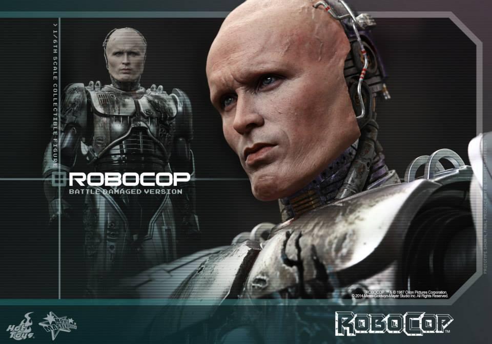 HOT TOYS - Robocop - Robocop (Battle Damaged Version) 235749113