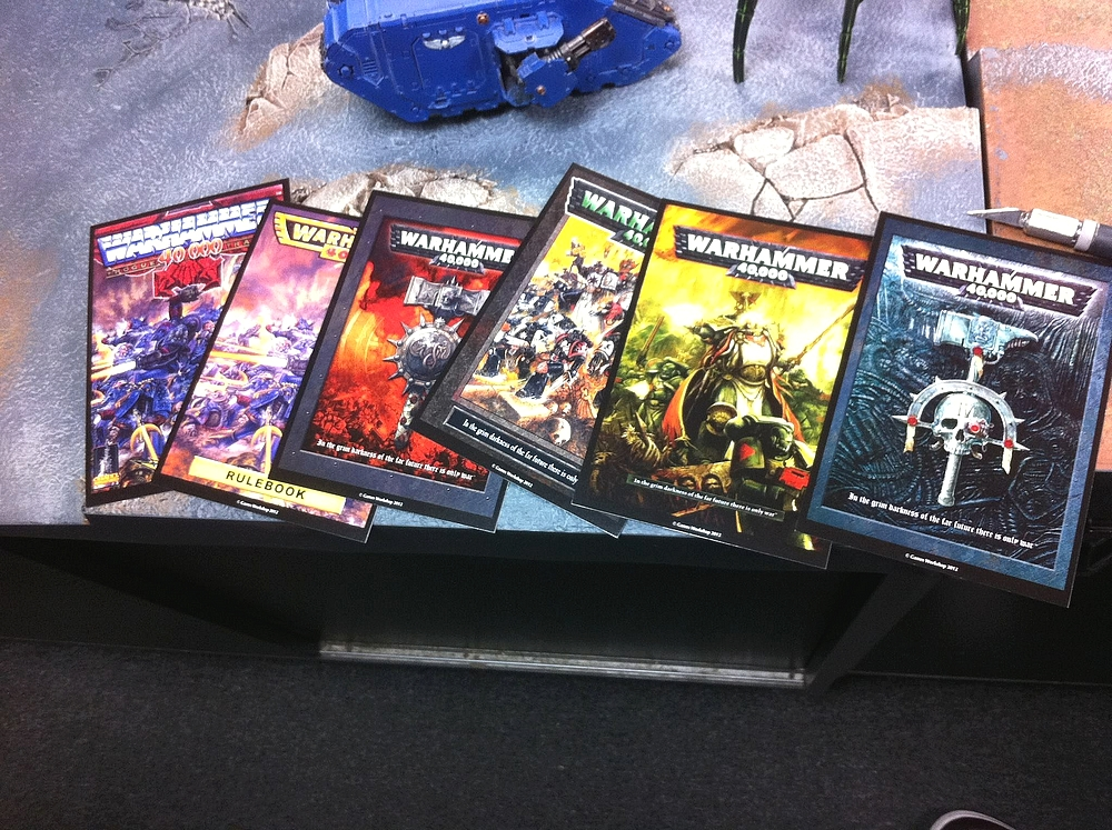 Le Livre de Règles de Warhammer 40,000 - V6 (Topic officiel) 236527CollectorEd6