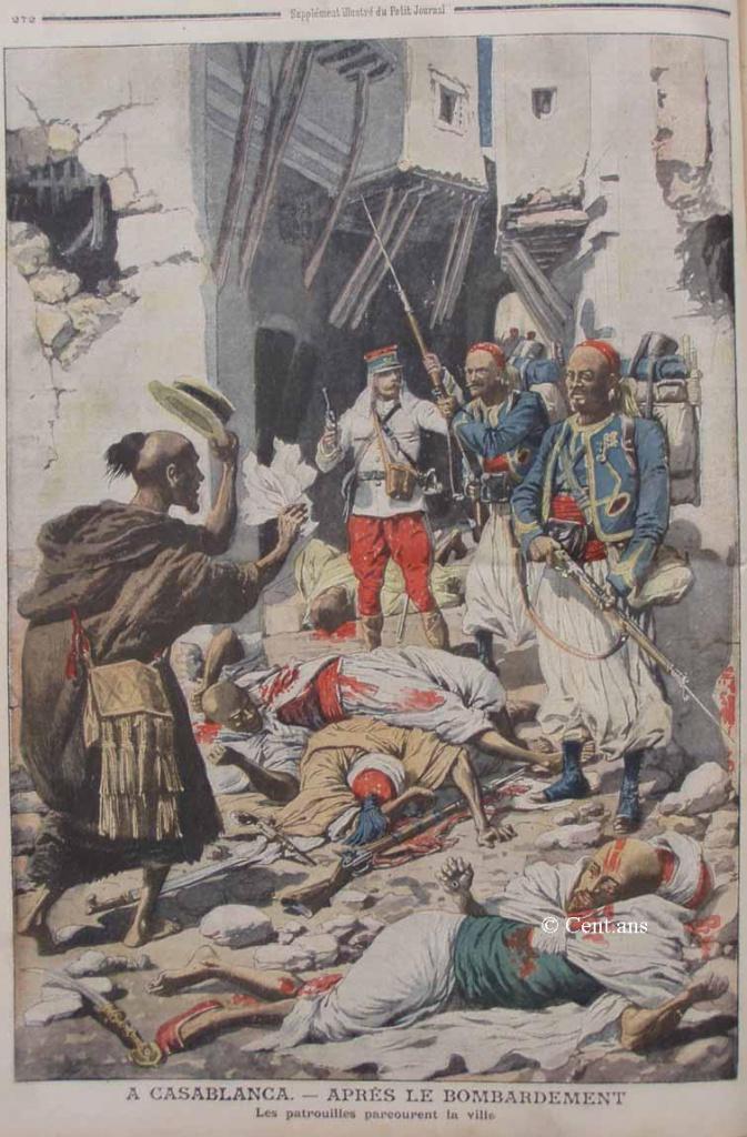 صفحات من تاريخ المغرب الحديث من خلال Le Petit journal illustré 237742pj87525081907b