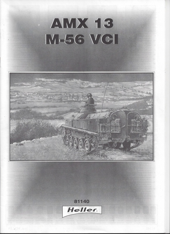 AMX 13 VCI 1/35ème Réf 81140 238385VCI001