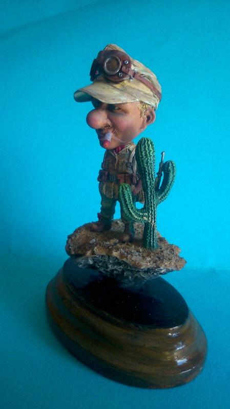 """Soldat allemand dans le désert """"Nuts Planet"""". 240610DSC0002"""