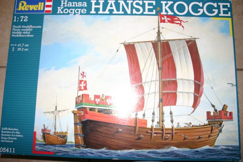 Hanse Kogge 1/72 Revell 240629IMG9889