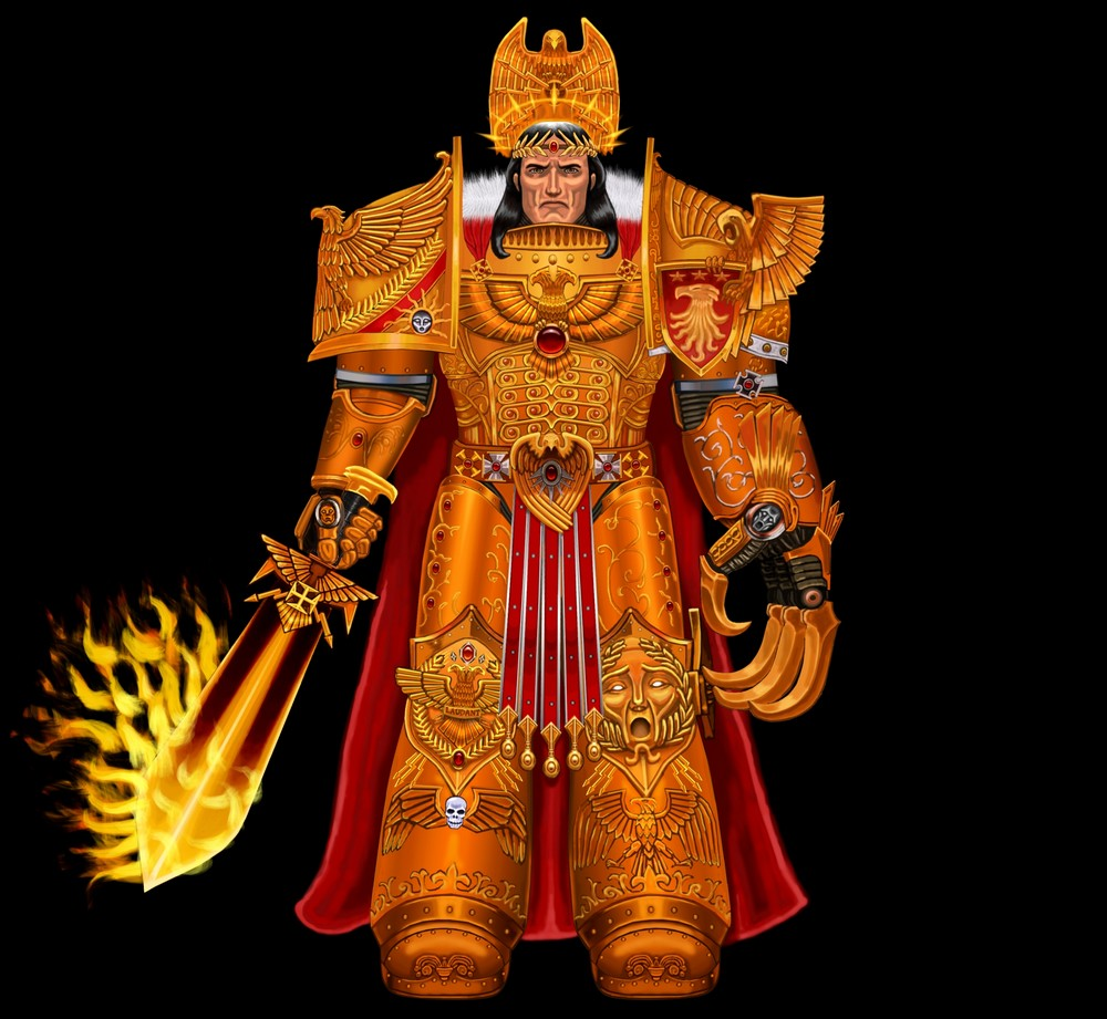 [Horus Heresy] The Emperor of Mankind by Aaron Dembsky Bowden 241544Emperorofmankind3B