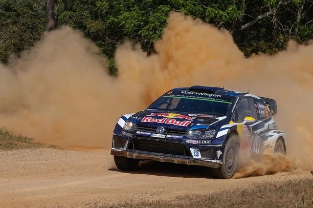 Rallye d'Australie Jour 2 : deux secondes d'écart entre les leaders Mikkelsen et Ogier  242193hd012016wrc13tw12378