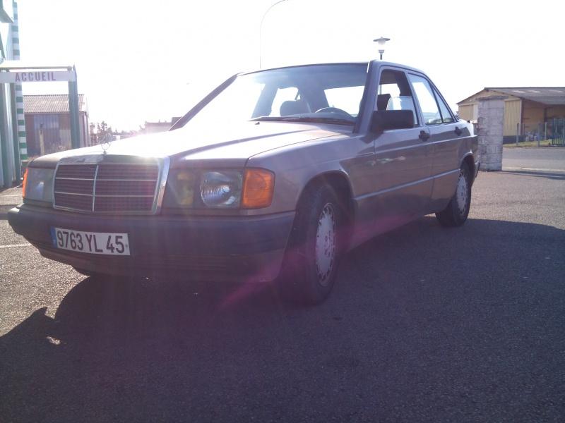 Mercedes 190 1.8 BVA, mon nouveau dailly 242376DSC2199
