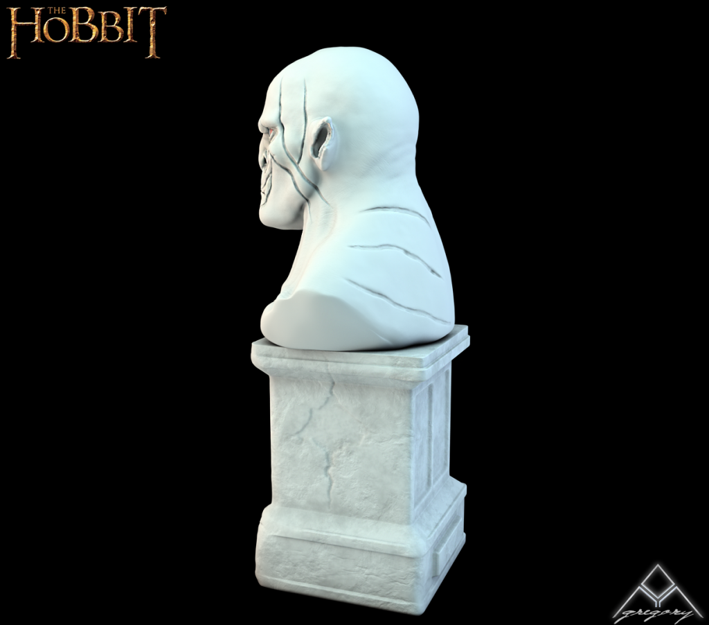 Azog de la saga Le Hobbit (Création 3D) par Greg_3D 242685AzogR162