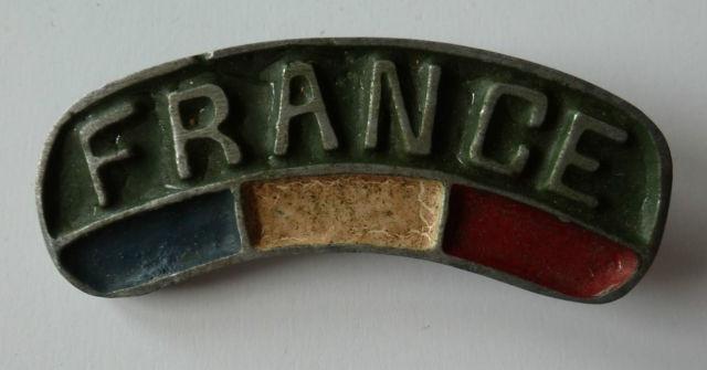LES INSIGNES DU BATAILLON DE CHOC 1943/1963. 243317BananeAlu1