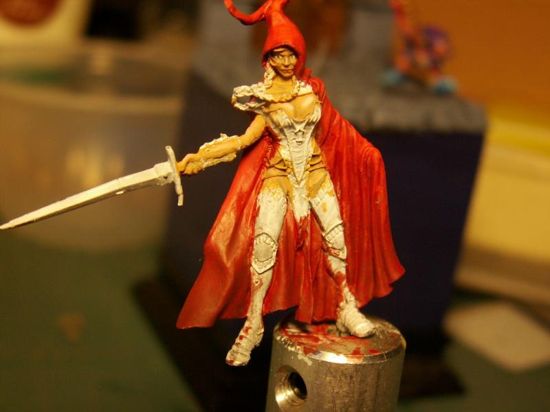 Isabeau la secréte et son porte épée. Marque Rackham 28 Mm 244100PICT0025