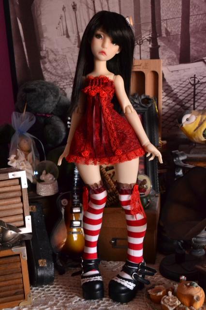 Fairytales Treasures - vêtements par Nekochaton et Kaominy - Page 9 245969ROBEMANONROUGE