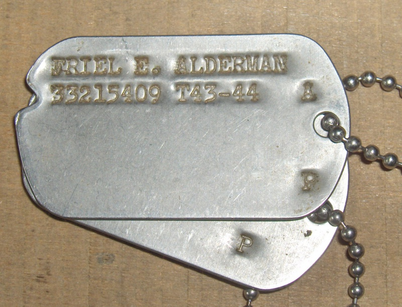 Les Dog Tag U.S. WWII 249038013