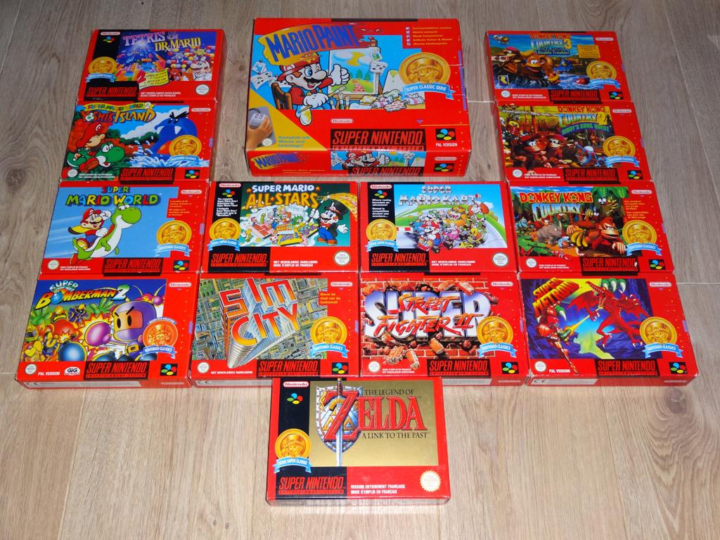 Prupru's Collection ! 100% Super Nintendo et 200% Super Comboy !! - Page 19 249476NintendoClassics