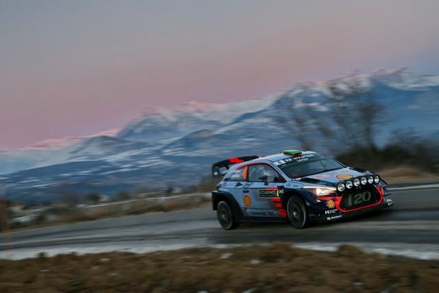 Rallye Monte Carlo Une Victoire En Power Stage pour Consoler Hyundai Motorsport  24996915152017montecarlorm005