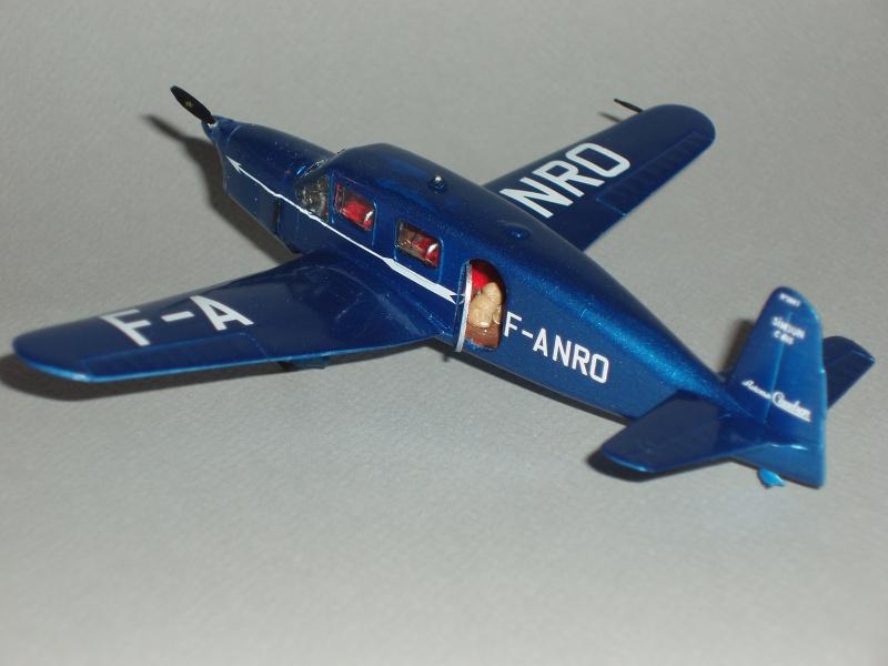 CAUDRON C-635 Simoun  (version Air Bleu). 1936  Heller 1/72. 250101cs31