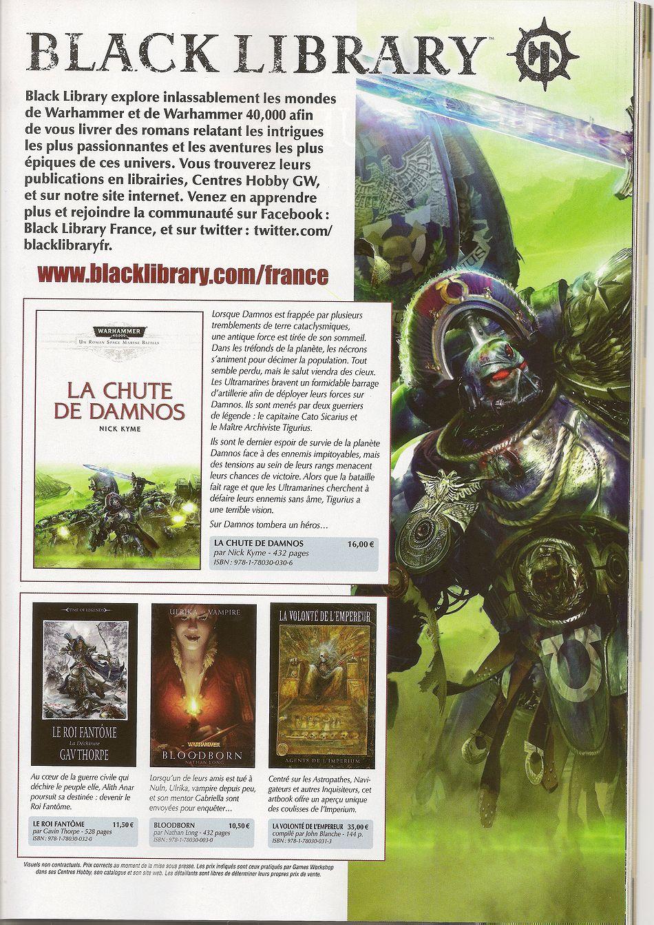 Sorties Black Library France Novembre 2011 252209BLNov2011