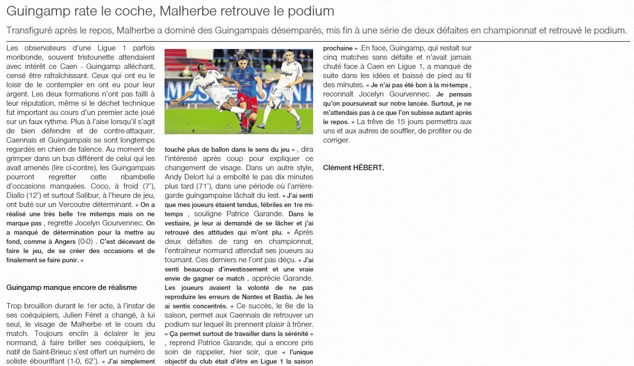 [13e journée de L1] SM Caen 2-1 EA Guingamp - Page 2 252942guingamp