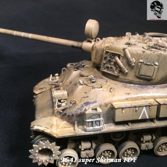 M-51 Super Sherman IDF - Academy 1/35 254163IMG4888