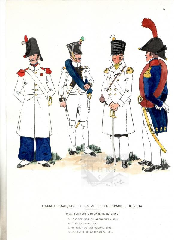 le 14e régiment d'infanterie de ligne 25525614edeligneenEspagne2