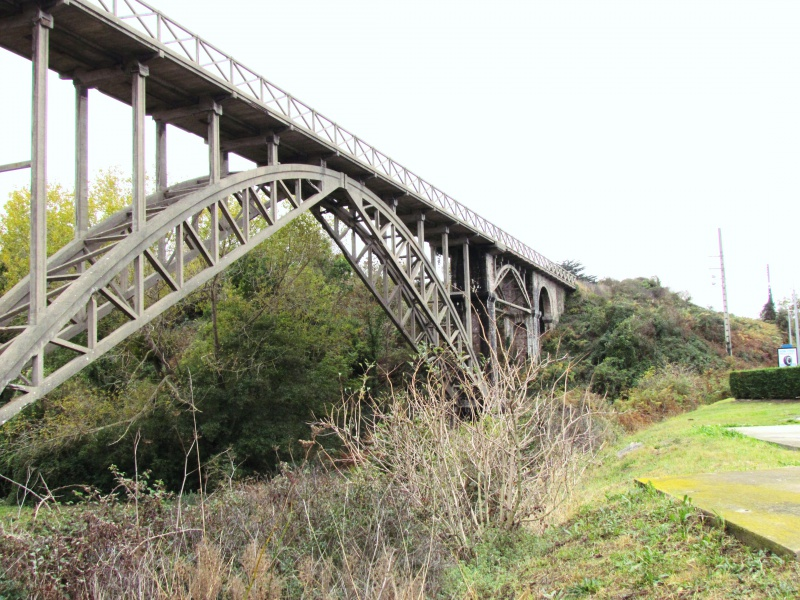 Chemin de fer des Côtes du Nord - le viaduc de Caroual (Erquy) 256392IMG6541