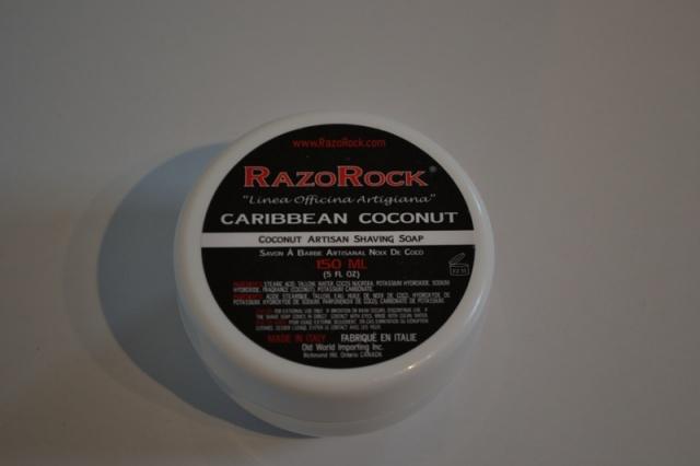 Savon RazoRock caribbean coconut  258066DSC000201