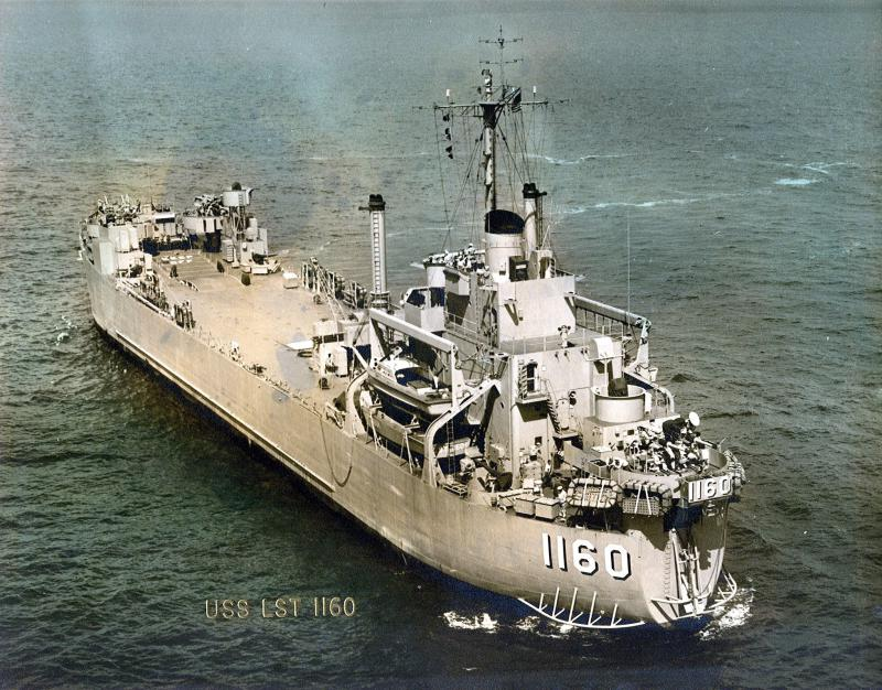 LANDING SHIP TANK (LST) CLASSE NEWPORT  260326USSTraverseCountyLST1160